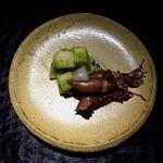 新屋敷 幸福論 - ほたるいか炙り・タケノコ木の芽和え