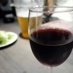 個室×鉄板居酒屋 鉄神 - 赤ワイン