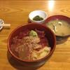 八仙 - 料理写真:【ランチ】鮪と鯛の二色丼 1000円(税込)