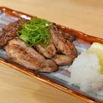 鮮魚と炉端焼き 魚丸 - せせりの藁焼き(580円)