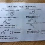 日本茶甘味処あずき - お茶の淹れ方1
