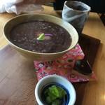 日本茶甘味処あずき - 白玉ぜんざい