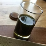 日本茶甘味処あずき - 抹茶あんみつ