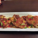 ワンタン館 - 焼き豆腐