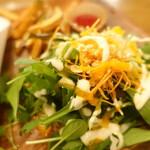 VEGAN BURG Kitchen - オーガニックサラダ