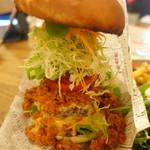 VEGAN BURG Kitchen - ザ・ヴィーガンバーグあっぷ