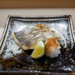 日本橋蛎殻町 すぎた - 2017/5_太刀魚の塩焼き