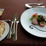 ステーキ&シーフード ボストン - 前菜&パン