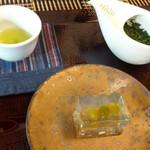 茶凛 - 玉露・上生菓子