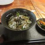 和創dining 和ん - ご飯はサラサラお茶漬けでいただきました。