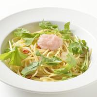 イタリア食堂 クッチーナ - 北海道産たらことルッコラのペペロンチーノさっぱりレモン風味