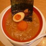 丸源ラーメン - つけ麺950円のつけ汁