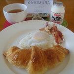 ホッカイドウトラックスホリデーズ - 料理写真:KAMIMURAの朝食セット(調理後)