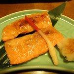ちょこっとコース鮭のハラス焼