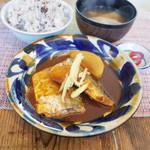 ネマルカフェ - サバの味噌煮定食(950円)