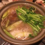 毬や - せり鍋 ¥1980