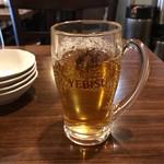 135酒場 - ウーロン茶。       うまし。
