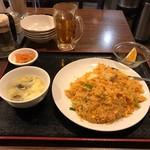 68903705 - アサリのキムチ炒飯。                       税込500円。                       美味し。