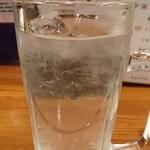 つちの子 - レモンハイ 焼酎の水割り