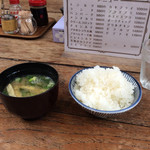 68908744 - ご飯と味噌汁
