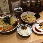 68909042 - ★東京豚骨つけ麺 大盛無料(780円)餃子(210円)★