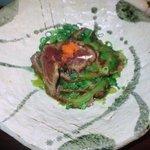 首里天楼 - ゴーヤの牛肉たたき
