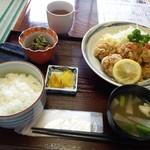 天しち - 料理写真:2017.6からあげ定食700円