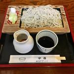 今昔 - 料理写真:十割そば 1000円