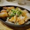 居酒屋 あがん - 料理写真:三枚肉の鉄板焼き
