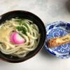 まなべうどん - 料理写真:かけうどん280円 ちくわ天80円