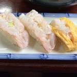 大吉 - 海老にぎり¥390