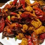 四川料理 天華 - 若鶏の揚げ物,クミン・山椒風味