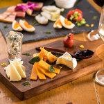 本日のチーズ 5種盛合せ