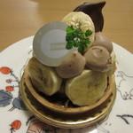 グリンデル・ベルグ - 料理写真:チョコバナナタルト