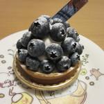 グリンデル・ベルグ - ブルーベリーチーズケーキ