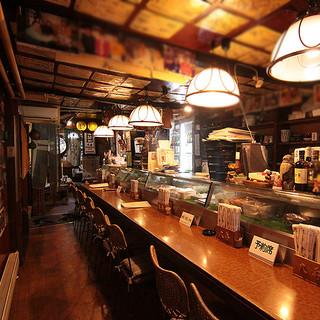 有名人も多数訪れる老舗店
