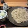 松竹庵 ます川 - 料理写真:石臼挽き十割蕎麦 江戸前
