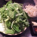 居酒屋 和楽 - 草鍋(鶏ガラ)