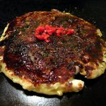 お好み焼たぬき - 料理写真:お好み焼きイカ