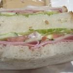 マーメイドカフェ - 野菜のサンド
