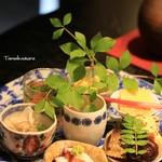 虹 - 料理写真:季節の小鉢 いろいろ