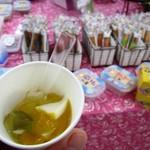 バナナケーキのモンテドール - 試食(琉球ブルー)