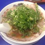 来来亭 - チャーシュー麺ネギ多め