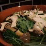 ひとひら - エリンギと水菜のおひたし