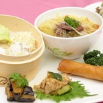 スポーティフ カフェアンドレストラン - 飲茶ランチセット(フリードリンク付)