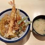 天丼てんや - 天丼(¥500)