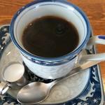 レストラン喫茶 ふじ - ジャンボハンバーグに付いたコーヒー