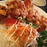 まーくん - 鶏の唐揚げ定食