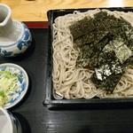 そば処 まる山 - ざるそば(700円)