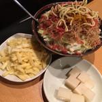 Monjakondou - カレーもんじゃに餅チーズトッピング